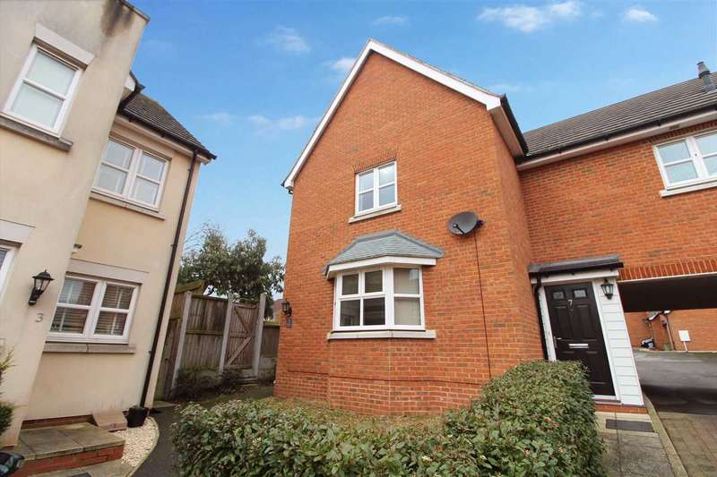 3 Bedrooms End Of Terrace House for sale in Chivers Court, Ipswich
