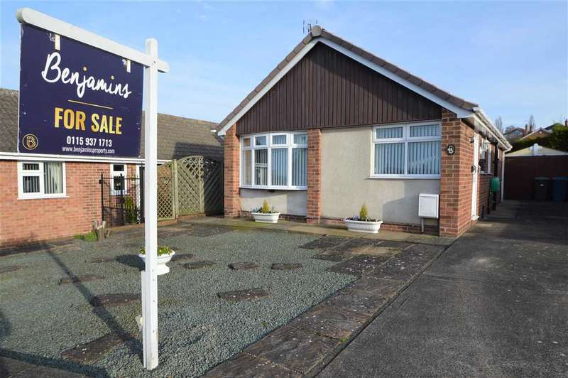 2 Bedrooms Detached Bungalow for sale in Covert Close, Keyworth, Nottingham