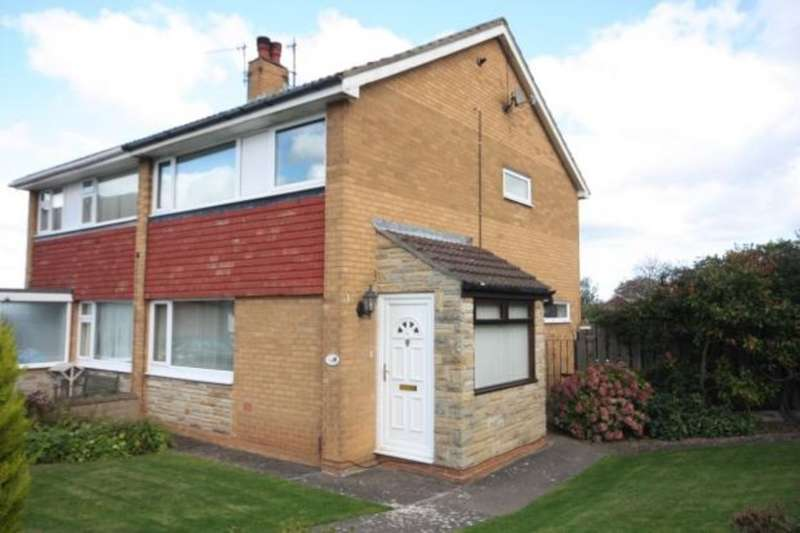 3 Bedrooms Semi Detached House for rent in Enfield Chase, Guisborough TS14