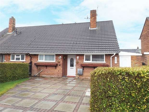2 Bedrooms Semi Detached Bungalow for sale in Marston Close, Wirral, Merseyside