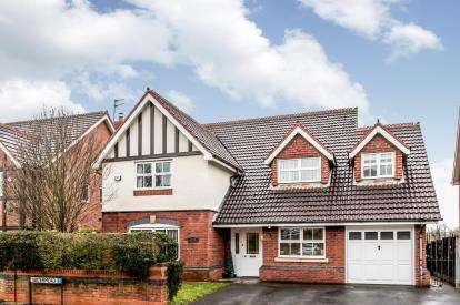 4 Bedrooms Detached House for sale in Gresham Way, Sale, Greater Manchester