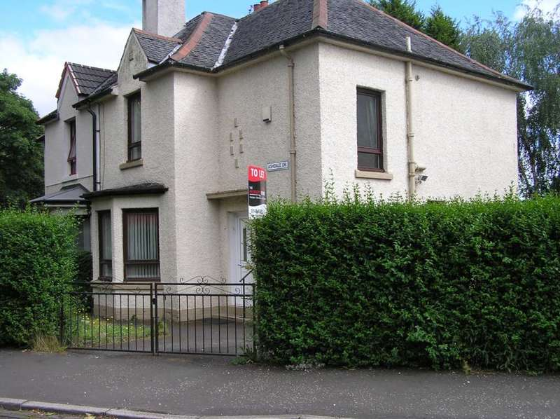 3 Bedrooms Semi Detached House for rent in Ashdale Drive, Mosspark