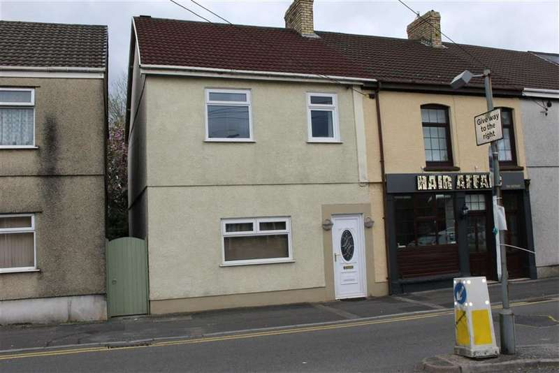 3 Bedrooms End Of Terrace House for sale in West Street, Gorseinon