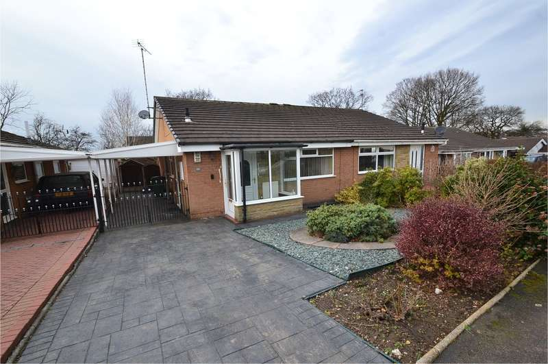 2 Bedrooms Semi Detached Bungalow for sale in Kingfisher Road, Offerton, Stockport SK2 5JR