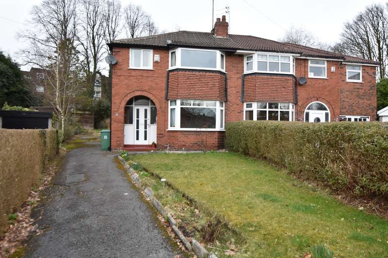 3 Bedrooms Semi Detached House for sale in The Drive, Prestwich, Manchester, M25