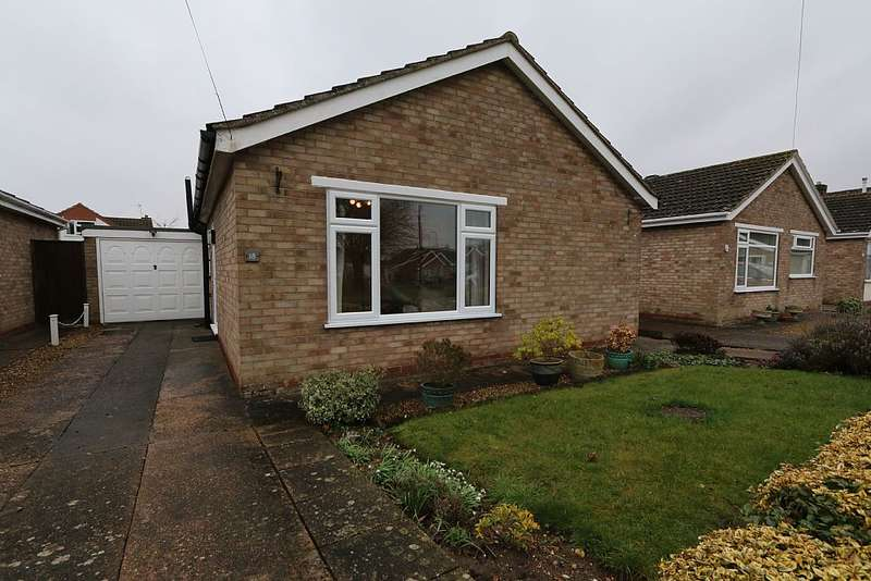 2 Bedrooms Detached Bungalow for sale in Anderson, Dunholme, Lincoln, Lincolnshire, LN2 3SR