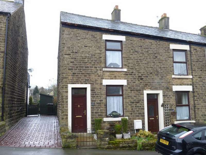 2 Bedrooms End Of Terrace House for sale in Post Street, Padfield, Glossop