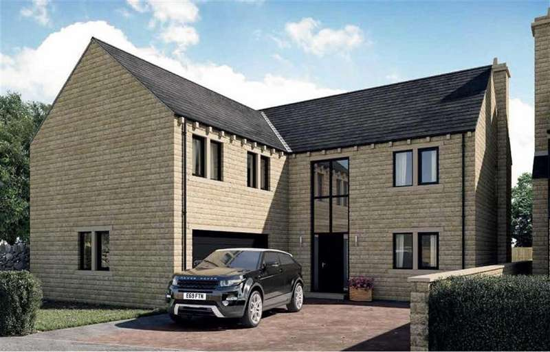 5 Bedrooms Detached House for sale in Moorland View, Meltham, Holmfirth, HD9