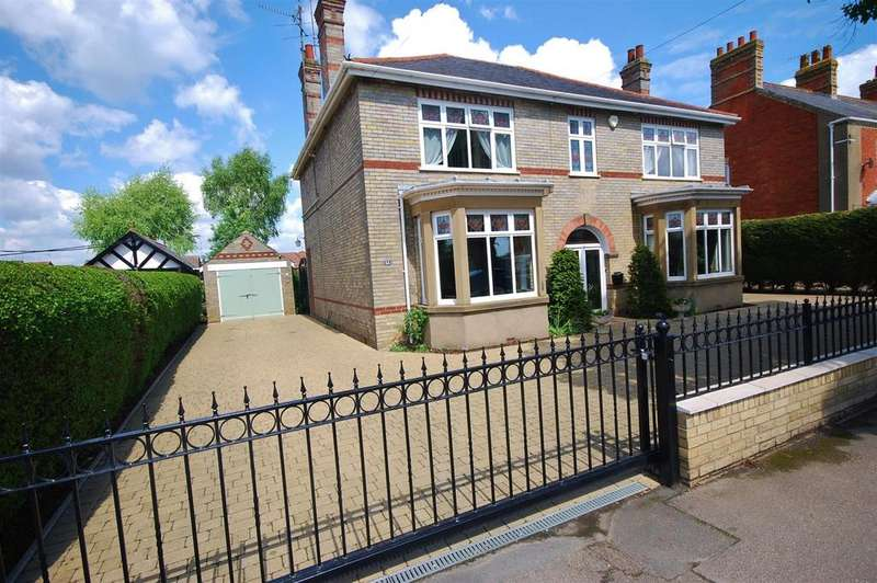 4 Bedrooms Detached House for sale in Spalding Road, Holbeach, Spalding