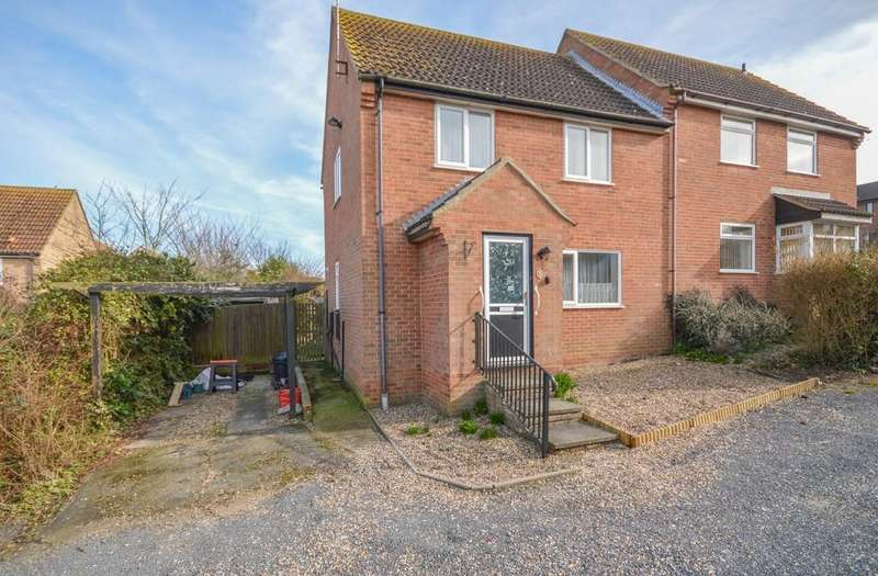 3 Bedrooms Semi Detached House for sale in Gainsborough Drive, Lawford