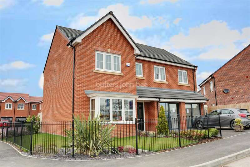 5 Bedrooms Detached House for sale in Moulton,Northwich