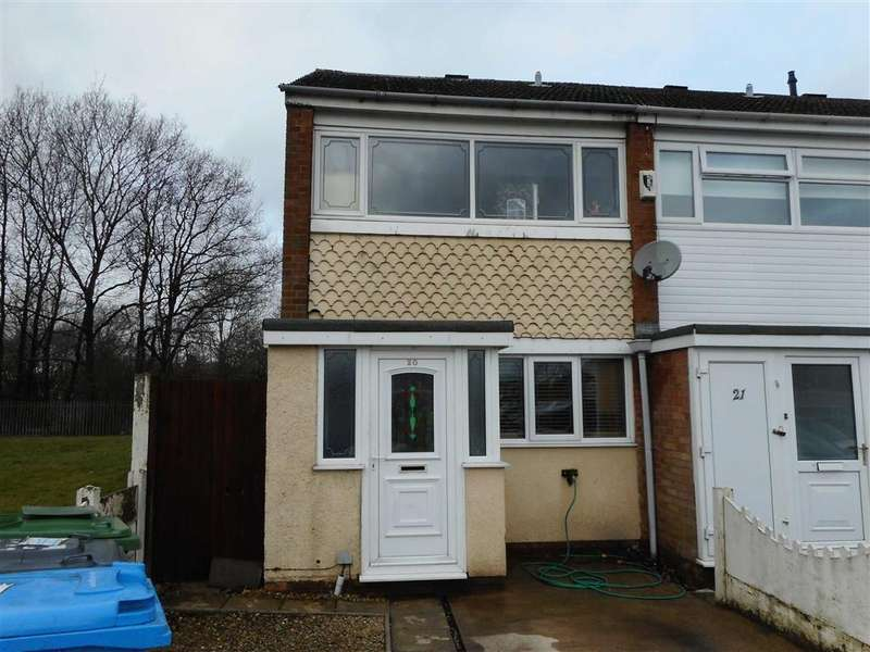 2 Bedrooms End Of Terrace House for sale in Norfolk Grove, Great Wyrley, Walsall