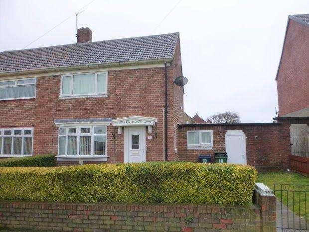 2 Bedrooms Semi Detached House for sale in RETFORD SQUARE, REDHOUSE, SUNDERLAND NORTH