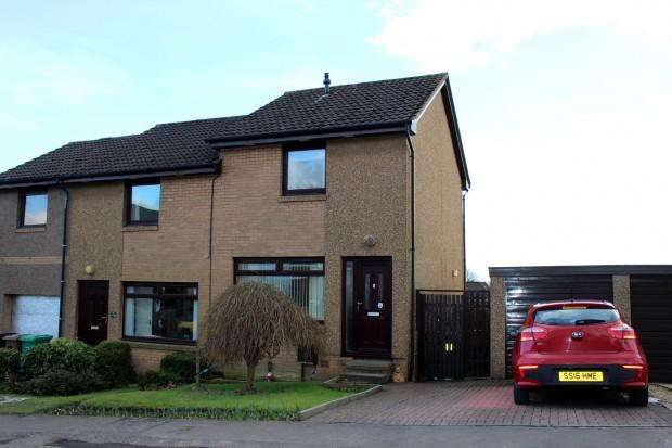2 Bedrooms Semi Detached House for sale in Birrell Drive, Dunfermline, KY11
