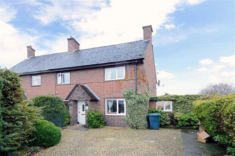 3 Bedrooms Semi Detached House for sale in Clive Road, Monkmoor, Shrewsbury, Shropshire