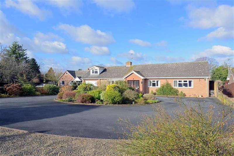 4 Bedrooms Detached Bungalow for sale in Melrose Drive, Off Sutton Road, Shrewsbury, Shropshire