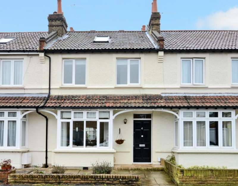 3 Bedrooms Terraced House for sale in Weston Park Close, Thames Ditton, KT7