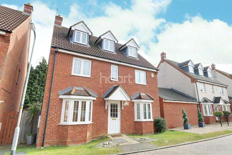 5 Bedrooms Detached House for sale in Deanshanger