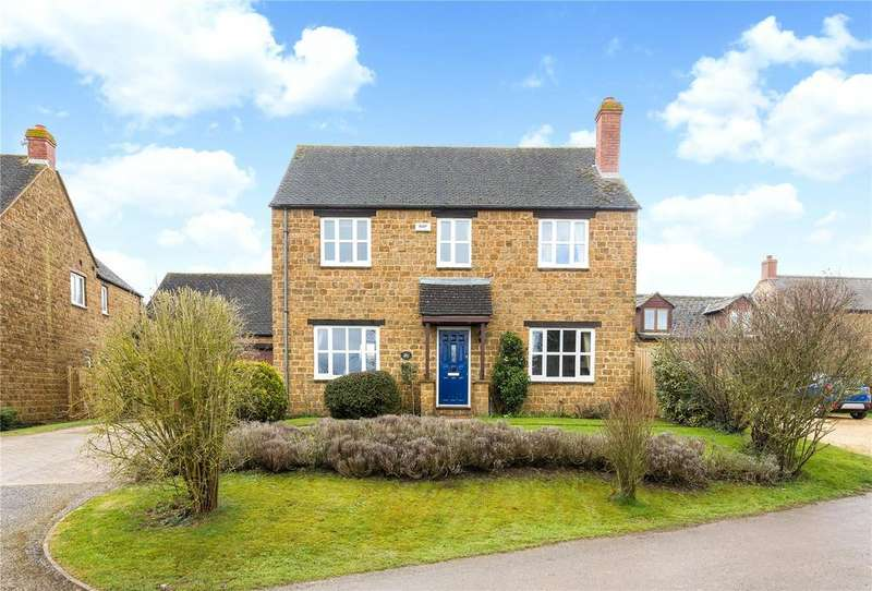 4 Bedrooms Detached House for sale in Crossing Lane, Claydon, Banbury, Oxfordshire, OX17