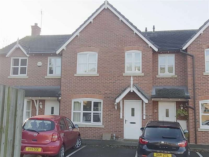 3 Bedrooms Terraced House for rent in 11, Trinity Close, Gobowen, Oswestry, Shropshire, SY11
