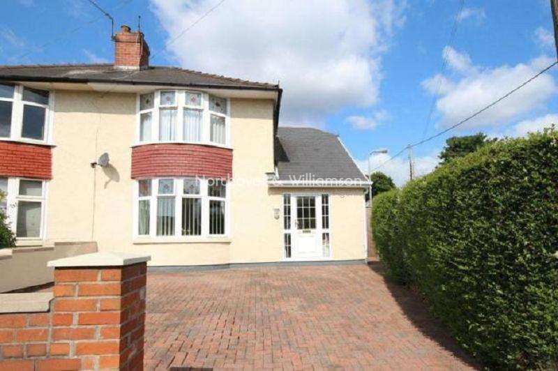 3 Bedrooms Semi Detached House for sale in Greenway Road, Rumney, Cardiff, Cardiff. CF3