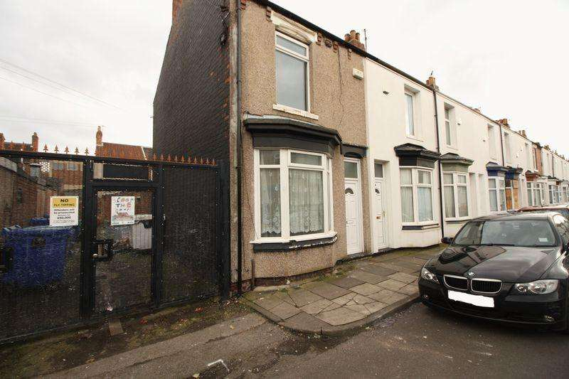 2 Bedrooms Terraced House for rent in Wicklow Street, Middlesbrough
