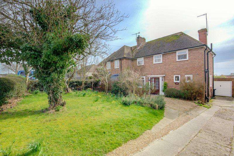 3 Bedrooms Semi Detached House for sale in West Way, Hove