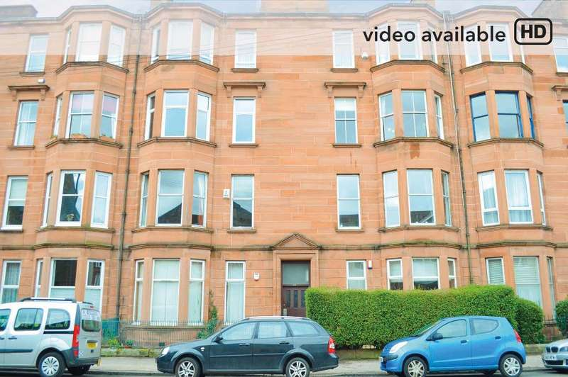 1 Bedroom Flat for sale in Niddrie Road, Flat 2/1, Queens Park, Glasgow, G42 8QB