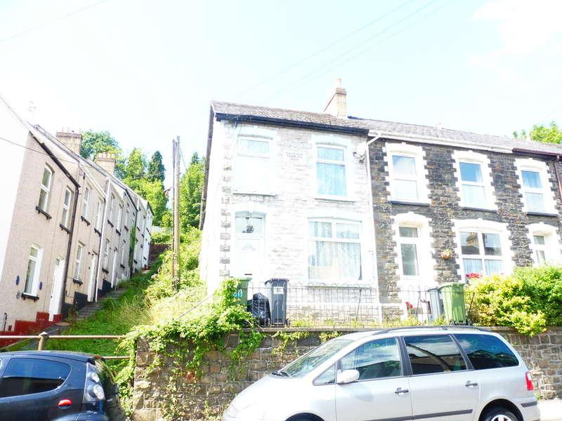 2 Bedrooms End Of Terrace House for sale in Osborne Road, Pontypool