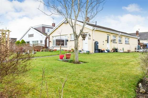 3 Bedrooms Detached Bungalow for sale in Castle View, Bridgend, Mid Glamorgan