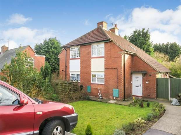 2 Bedrooms Semi Detached House for sale in Carpenter Avenue, Mansfield, Nottinghamshire