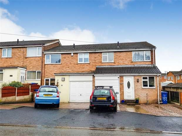 3 Bedrooms End Of Terrace House for sale in Queen Street, Burntwood, Staffordshire