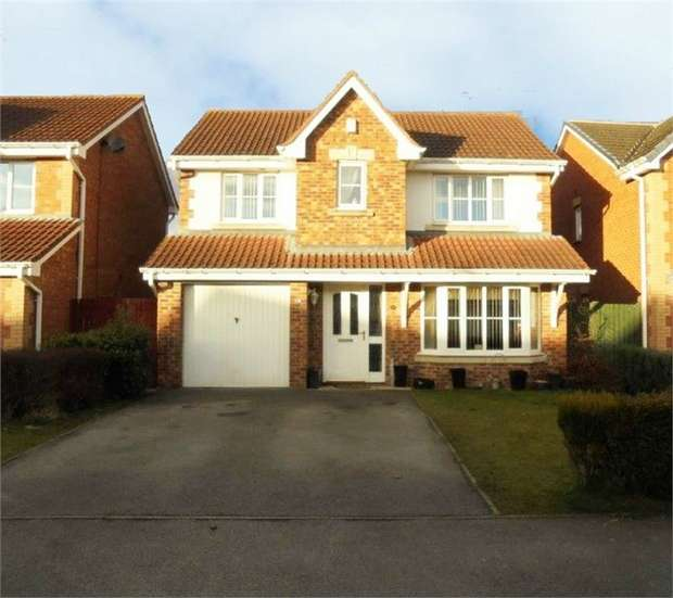 4 Bedrooms Detached House for sale in Woolsington Drive, Middleton St George, Darlington, Durham