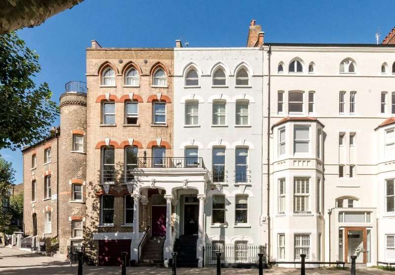 5 Bedrooms Terraced House for sale in Chalcot Square, Primrose Hill, London, NW1
