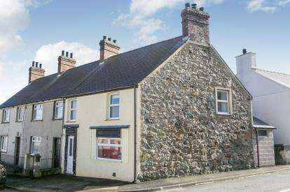 3 Bedrooms End Of Terrace House for sale in Bodorgan Square, Aberffraw, Ty Croes, Sir Ynys Mon, LL63