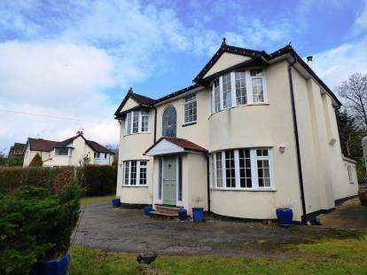 4 Bedrooms Detached House for sale in Buxton Road, Disley, Stockport, Cheshire