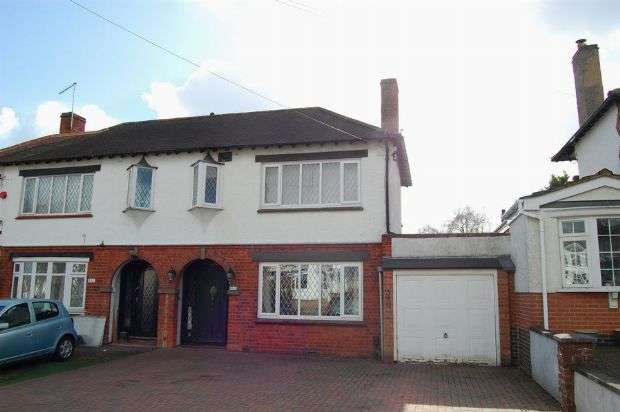 3 Bedrooms Semi Detached House for sale in Billing Road East, Abington, Northampton NN3 3LJ