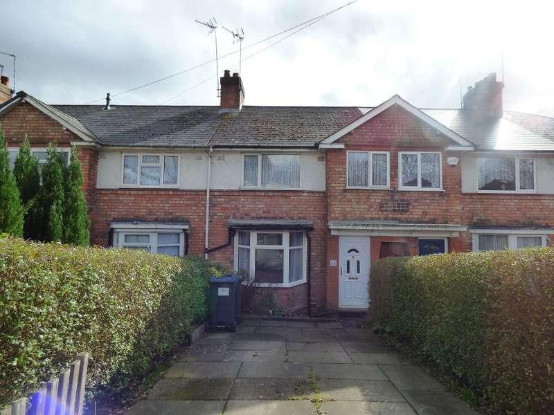 3 Bedrooms Terraced House for sale in Quinton Road, Harborne, Birmingham, B17 0PG