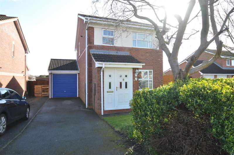 3 Bedrooms Detached House for sale in Grosvenor Crescent, Droitwich Spa