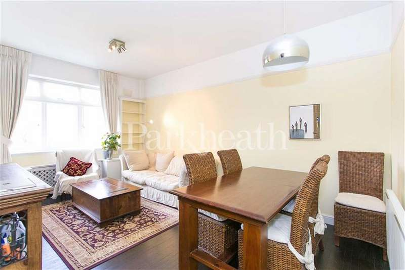 1 Bedroom Flat for sale in Cleve Road, South Hampstead, London