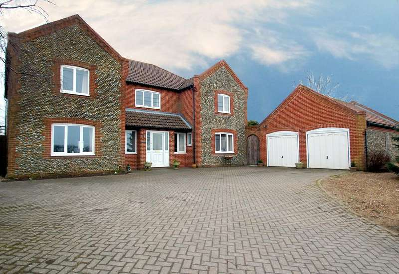 4 Bedrooms Detached House for sale in Happisburgh Road, White Horse Common