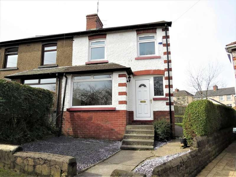 3 Bedrooms Semi Detached House for sale in West Crescent, Stocksbridge, Sheffield