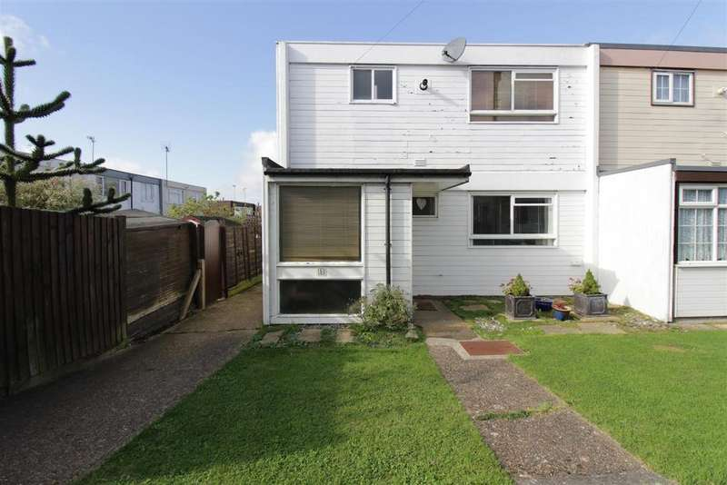 3 Bedrooms End Of Terrace House for sale in Clifton Walk, Benfleet