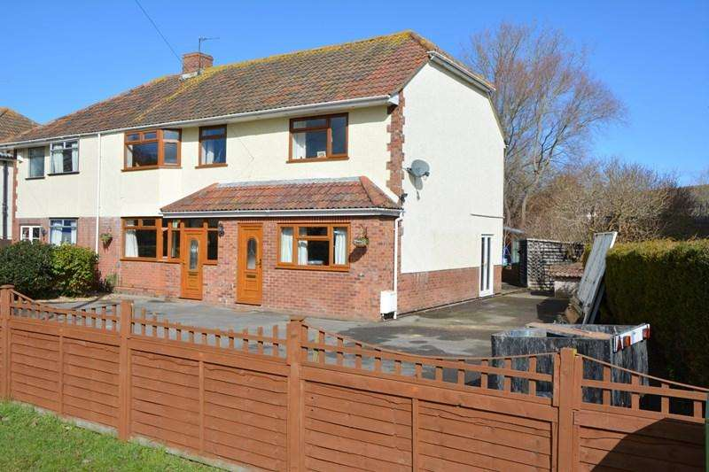 4 Bedrooms Semi Detached House for sale in Burnham Road, Highbridge