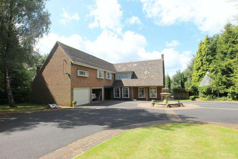 4 Bedrooms Detached House for sale in Ravenswood, Snape Hall Road, Whitmore Heath