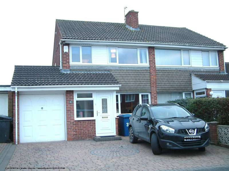 3 Bedrooms Semi Detached House for sale in Caradoc, Glascote, B77 2DX