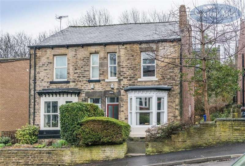 3 Bedrooms Semi Detached House for sale in Springvale Road, Crookesmoor, Sheffield, S6