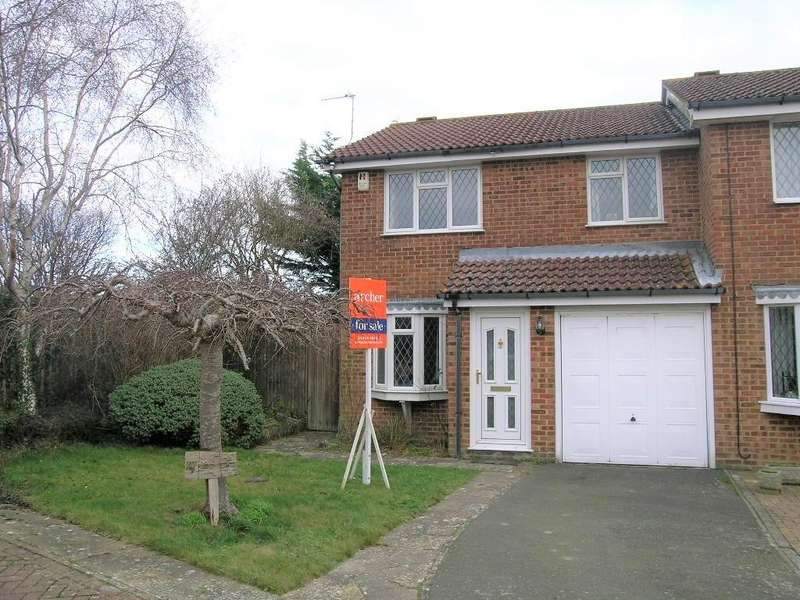 3 Bedrooms Semi Detached House for sale in Heron Ridge, Polegate, Polegate BN26 5BJ