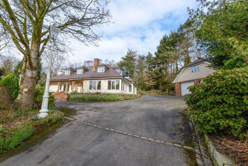 5 Bedrooms Detached House for rent in Heath Rise, Whitmore, Newcastle-Under-Lyme