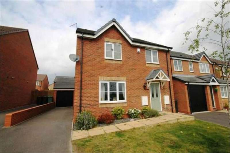 4 Bedrooms Detached House for sale in Hatteras Row, Bermuda, Nuneaton, Warwickshire